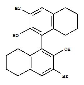 S-3,3'-Dibromo-5,5',6,6',7,7',8,8'-octahydro -1,1'-bi-2,2'-naphthalenediol(765278-73-7)