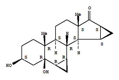 3β,5β-Dihydroxy-6β,7β;15β, 16β-Dimethylene-5β-Androstan-17-one(82543-16-6)