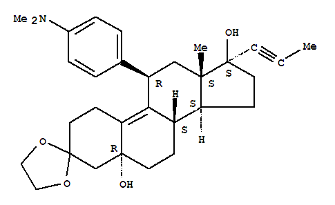 3-Ethylene dioxy-17-oxo-13β -methyl estra-5(10)9(11)-diene(84371-64-2)