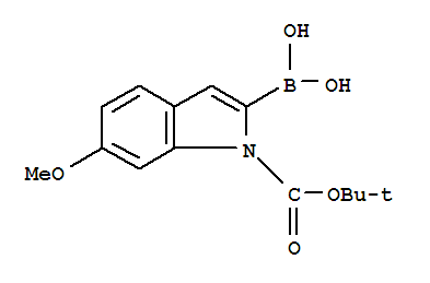 1-Boc-6-methoxyindole-2-boronic acid