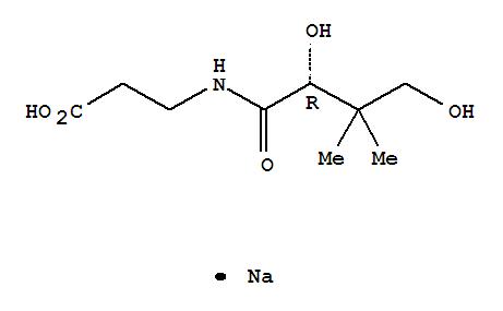 Sodium D-pantothenate(867-81-2)