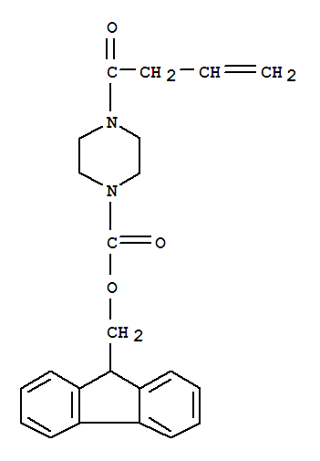 (9H-Fluoren-9-yl)methyl 4-(but-3-enoyl)piperazine-1-carboxylate