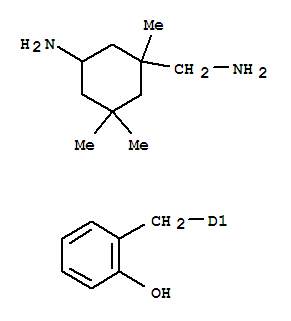 Molecular Structure of 93941-64-1 (Cyclohexanemethanamine,5-amino-1,3,3-trimethyl-, N-[(2-hydroxyphenyl)methyl] deriv. (9CI))