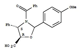 (4S,5R)-3-Benzoyl-2-(4-methoxyphenyl)-4-phenyl-5-oxazolidinecarboxylic acid(949023-16-9)