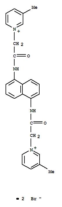 101797-01-7,1,1'-[1,5-Naphthylenebis(iminocarbonylmethylene)]bis[3-picoliniumbromide] (7CI),