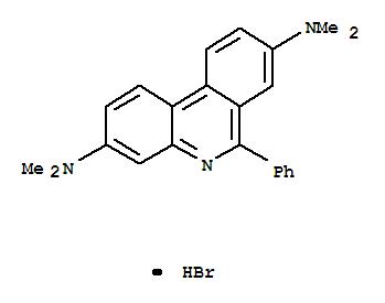102586-18-5,3,8-Phenanthridinediamine,N3,N3,N8,N8-tetramethyl-6-phenyl-, hydrobromide (1:1),3,8-Phenanthridinediamine,N,N,N',N'-tetramethyl-6-phenyl-, monohydrobromide (9CI)