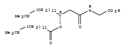 103196-73-2,Tetradecanoic acid,13-methyl-, (1R)-1-[2-[(carboxymethyl)amino]-2-oxoethyl]-13-methyltetradecylester,Tetradecanoicacid, 13-methyl-, 1-[2-[(carboxymethyl)amino]-2-oxoethyl]-13-methyltetradecylester, (R)-; Topostin B 567