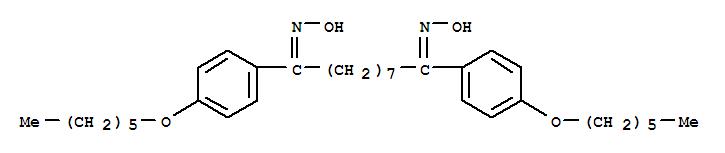 104192-29-2,1,9-Nonanedione,1,9-bis[4-(hexyloxy)phenyl]-, dioxime (9CI),