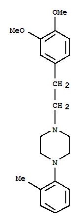 1049-79-2,Piperazine,1-[2-(3,4-dimethoxyphenyl)ethyl]-4-(2-methylphenyl)-,Piperazine,1-(3,4-dimethoxyphenethyl)-4-o-tolyl- (7CI,8CI)