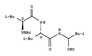 105467-53-6,L-Leucinamide,N-acetyl-L-leucyl-N-(1-formyl-3-methylbutyl)- (9CI),SUAM 314