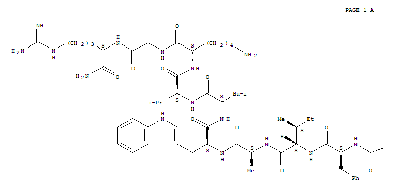 Molecular Structure of 107444-51-9 (GLP-1-(7-36)amide)