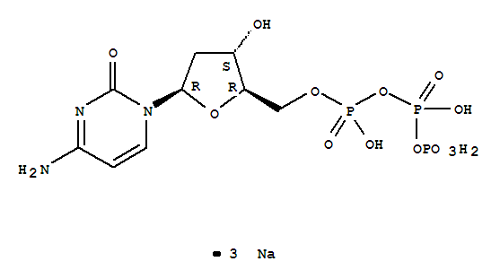 2'-Deoxycytidine-5'-triphosphate trisodium salt(109909-44-6)