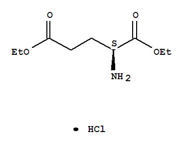 Molecular Structure of 1118-89-4 (L-Glutamic acid,1,5-diethyl ester, hydrochloride (1:1))