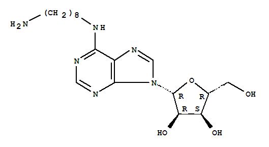111863-56-0,Adenosine,N-(8-aminooctyl)- (9CI),N(6)-octylamine adenosine