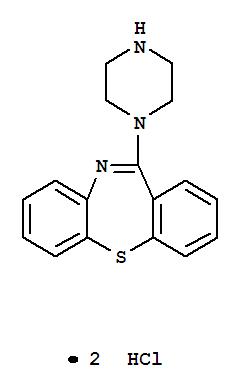 11-Piperazinodibenzo[b,f][1,4]thiazepine dihydrochloride(111974-74-4)