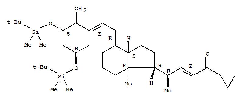 High quality (2E,4R)-4-[(1R,3As,4E,7Ar)-4-[(2E)-2-[(3S,5R)-3,5-Bis[[(Tert-Butyl)Dimethylsilyl]Oxy]-2-Methylenecyclohexylidene]Ethylidene]Octahydro-7A-Methyl-1H-Inden-1-Yl]-1-Cyclopropyl-2-Penten-1-One