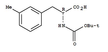 Molecular Structure of 114873-14-2 (D-Phenylalanine,N-[(1,1-dimethylethoxy)carbonyl]-3-methyl-)