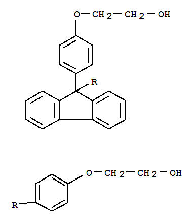 Molecular Structure of 117344-32-8 (Ethanol,2,2'-[9H-fluoren-9-ylidenebis(4,1-phenyleneoxy)]bis-)