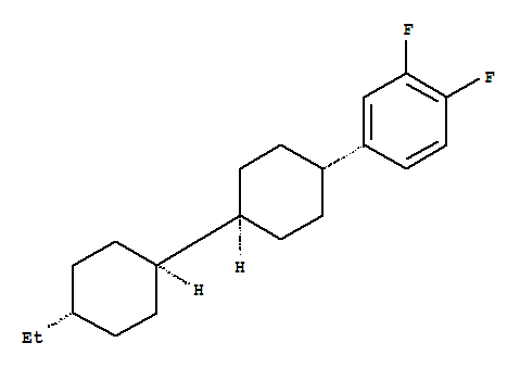Benzene,4-[(trans,trans)-4'-ethyl[1,1'-bicyclohexyl]-4-yl]-1,2-difluoro- product picture