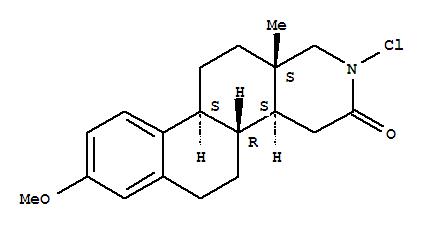 119111-52-3,Naphth[2,1-f]isoquinolin-3(2H)-one,2-chloro-1,4,4a,4b,5,6,10b,11,12,12a-decahydro-8-methoxy-12a-methyl-,(4aS,4bR,10bS,12aS)-,17-Aza-D-homoestra-1,3,5(10)-trien-16-one,17-chloro-3-methoxy-