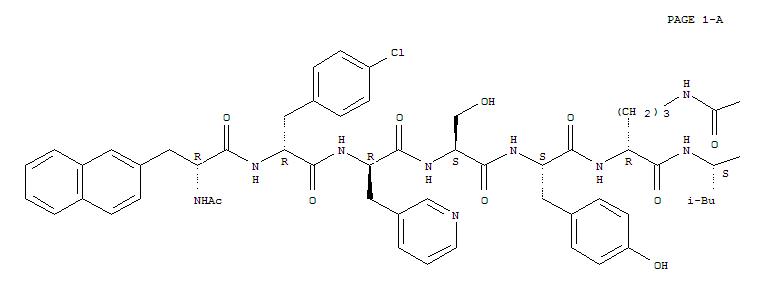 Cetrorelix/ Cetrorelixum