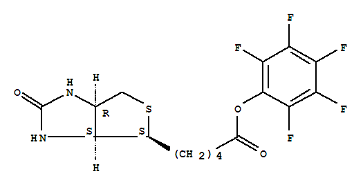(2,3,4,5,6-pentafluorophenyl) 5-[(3aS,4S,6aR)-2-oxo-1,3,3a,4,6,6a-hexahydrothieno[3,4-d]imidazol-4-yl]pentanoate