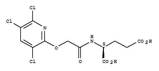 121825-93-2,L-Glutamic acid,N-[[(3,5,6-trichloro-2-pyridinyl)oxy]acetyl]- (9CI),