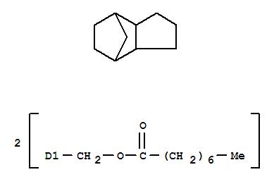 122359-47-1,Octanoic acid,(octahydro-4,7-methano-1H-indene-5,?-diyl)bis(methylene) ester (9CI),octanoic acid, (octahydro-4,7-methano-1H-indenediyl)bis(methylene) ester