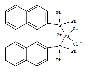 High quality Dichloro[(R)-(+)-2,2'-Bis(Diphenylphosphino)-1,1'-Binaphthyl]Ruthenium (Ii) supplier in China