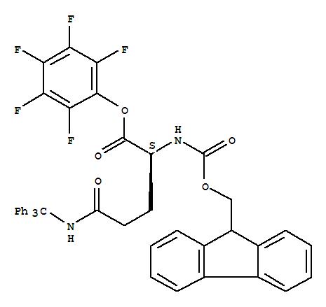 N-Fmoc-N'-trityl-L-glutamine pentafluorophenyl ester ...