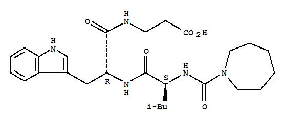 141594-69-6,b-Alanine,N-[N-[N-[(hexahydro-1H-azepin-1-yl)carbonyl]-L-leucyl]-D-tryptophyl]- (9CI),