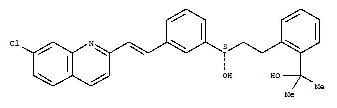 2-(2-(3-(2-(7-Chloro-2-quinolinyl)-ethenylphenyl)-3-hydroxypropyl)phenyl)-2-propanol(142569-70-8)
