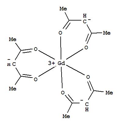 Molecular Structure of 14284-87-8 (Gadolinium,tris(2,4-pentanedionato-kO2,kO4)-, (OC-6-11)-)
