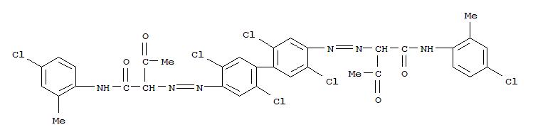 14359-20-7,Butanamide,2,2'-[(2,2',5,5'-tetrachloro[1,1'-biphenyl]-4,4'-diyl)bis(2,1-diazenediyl)]bis[N-(4-chloro-2-methylphenyl)-3-oxo-,Butanamide,2,2'-[(2,2',5,5'-tetrachloro[1,1'-biphenyl]-4,4'-diyl)bis(azo)]bis[N-(4-chloro-2-methylphenyl)-3-oxo-(9CI); o-Acetoacetotoluidide,2,2''-[(2,2',5,5'-tetrachloro-4,4'-biphenylylene)bis(azo)]bis[4'-chloro- (8CI);o-Acetoacetotoluidide, 2,2'''-[(2,2',5,5'-tetrachloro-4,4'-biphenylylene)bis(azo)]bis[4'-chloro-(7CI); C.I. Pigment Yellow 113; Permanent Yellow H 10GL