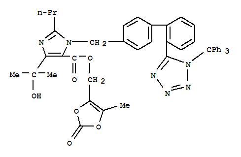 Molecular Structure of 144690-92-6 (Trityl olmesartan)