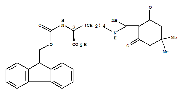 N-Fmoc-N'-[1-(4,4-Dimethyl-2,6-dioxocyclohexylidene)ethyl]-D-lysine
