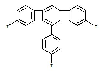 Molecular Structure of 151417-38-8 (1,3,5-Tris(4-iodophenyl)benzene)