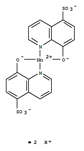 Molecular Structure Of 15702 65 5 Manganate2 Bis