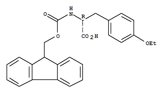 162502-65-0,D-Tyrosine,O-ethyl-N-[(9H-fluoren-9-ylmethoxy)carbonyl]-,Fmoc-D-Tyr(Et)-OH;