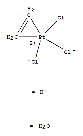 CAS No.16405-35-9,Platinate(1-),trichloro(h2-ethene ... H2 Structural Formula