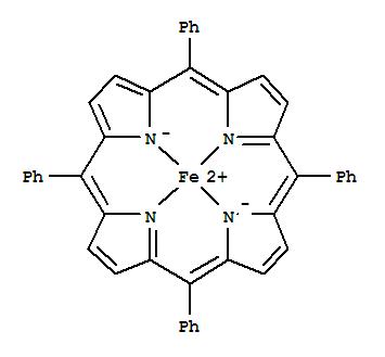 Iron,[5,10,15,20-tetraphenyl-21H,23H-porphinato(2-)-kN21,kN22,kN23,kN24]-, (SP-4-1)-(16591-56-3)