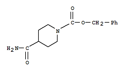 Molecular Structure of 167757-45-1 (1-Cbz-4-piperidinecarboxamide)