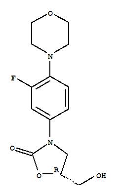 168828-82-8,2-Oxazolidinone,3-[3-fluoro-4-(4-morpholinyl)phenyl]-5-(hydroxymethyl)-, (5R)-,2-Oxazolidinone,3-[3-fluoro-4-(4-morpholinyl)phenyl]-5-(hydroxymethyl)-, (R)-;S-5-Azidomethyl-3-[3-fluoro-4-(4-morpholinyl)phenyl]-2-oxazolidinone;(5R)-3-[3-Fluoro-4-(morpholin-4-yl)phenyl]-5-(hydroxymethyl)-1,3-oxazolidin-2-one;CHEMBL596913;AC-4277;TL8001308;