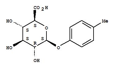 17680-99-8,b-D-Glucopyranosiduronic acid,4-methylphenyl,p-Methylphenyl-b-D-glucopyranosiduronic acid;p-Tolyl-b-glucuronic acid;Glucopyranosiduronicacid, p-tolyl, b-D-(8CI);b-D-Glucosiduronic acid, p-tolyl(6CI,7CI);