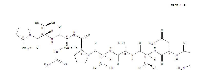 Basic Protein Structure Myelin basic protein (83-99)