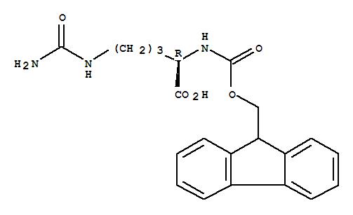 200344-33-8,D-Ornithine,N5-(aminocarbonyl)-N2-[(9H-fluoren-9-ylmethoxy)carbonyl]-,Fmoc-D-Cit-OH; (R)-2-(((9H-Fluoren-9-yl)methoxy)carbonylamino)-5-ureidopentanoic acid