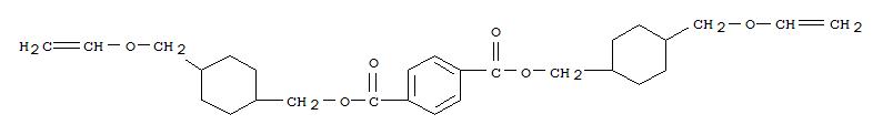 Molecular Structure of 209072-72-0 (1,4-Benzenedicarboxylicacid, 1,4-bis[[4-[(ethenyloxy)methyl]cyclohexyl]methyl] ester)
