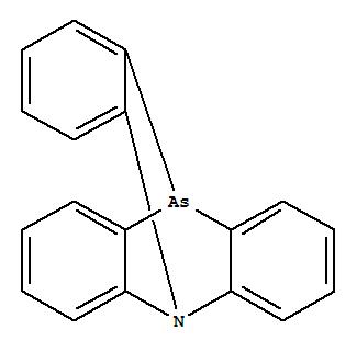 25201-28-9,5,10[1',2']-Benzenophenarsazine(9CI),5,10-o-Benzenophenarsazine(8CI); Azarsatriptycene