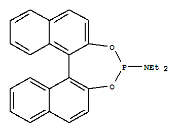 Molecular Structure of 252288-04-3 (Dinaphtho[2,1-d:1',2'-f][1,3,2]dioxaphosphepin-4-amine,N,N-diethyl-, (11bS)-)