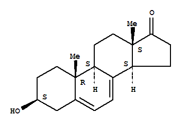 2691-68-1,Androsta-5,7-dien-17-one,3-hydroxy-, (3b)-,Androsta-5,7-dien-17-one,3b-hydroxy- (7CI,8CI); 3b-Hydroxyandrosta-5,7-dien-17-one;NSC 124732